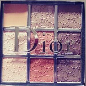 Dior backstage eyeshadow palette warm neutrals